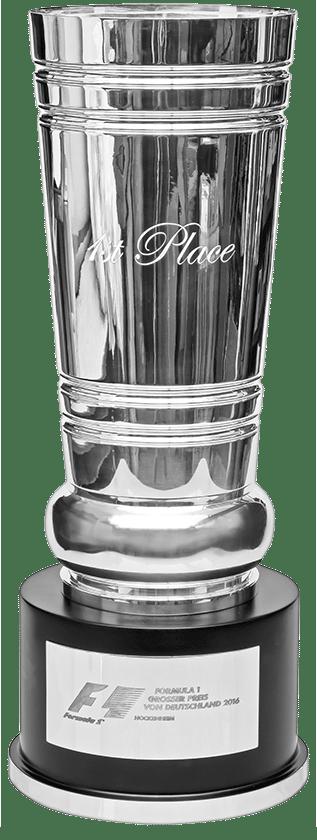Der Große Preis von Deutschland: Silbertrophäe (Silbermanufaktur KOCH & BERGFELD, Bremen)