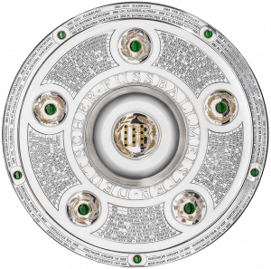 Die DFB-Meisterschale (925er Sterlingsilber Modell Nr. 15953)