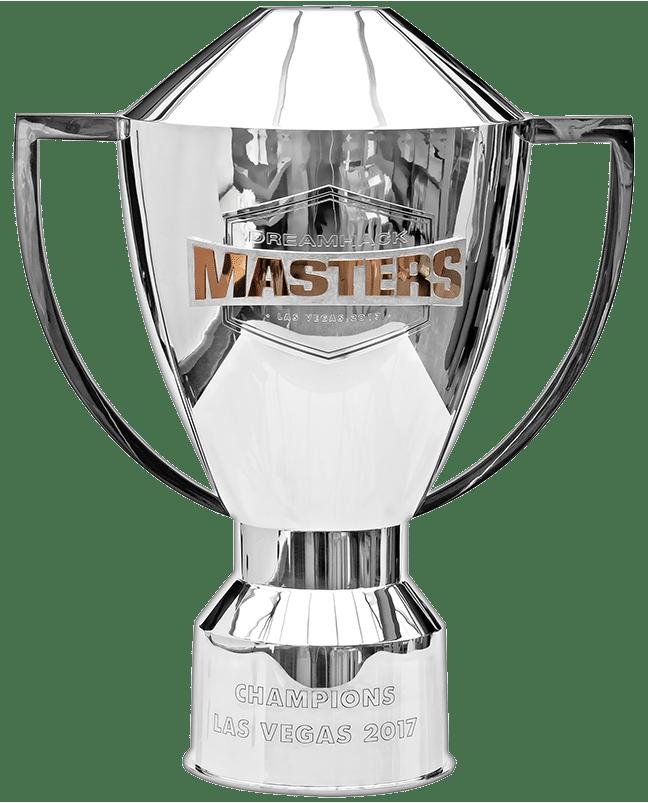 Trophäe: Dreamhack Masters Trophy (925er Sterlingsilber Modell Nr. 16173)
