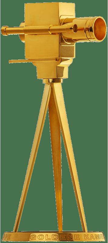 Trophäe: Die Goldene Kamera